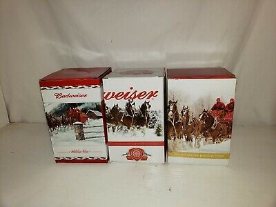 $ CDN44.93 • Buy Budweiser Holiday Stein Lot