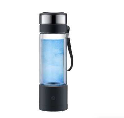 Electrolysis HYDROGEN WATER BOTTLE 350ml Ionizer Generator Alkaline Bottle Cup • 44.19£