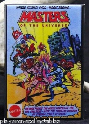 $6.45 • Buy Masters Of The Universe Comic Book Ad 2  X 3  Fridge Magnet. He-Man Skeletor