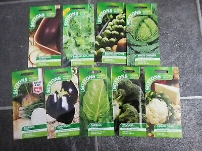 Suttons - Assorted Vegetable & Flower Seeds - 50% Off RRP • 1.49£