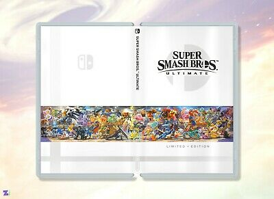 $6.99 • Buy Super Smash Bros Ultimate Limited Edition: Custom Game Case For Nintendo Switch