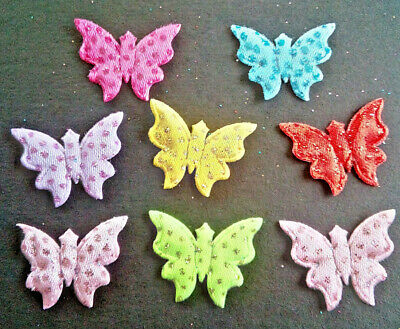 100 BUTTERFLY EMBELLISHMENTS Card And Craft Making  SENT FROM THE UK   • 2.60£
