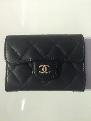 AU900 • Buy Chanel Lambskin XL Cardholder/Small Wallet SLG - Authentic
