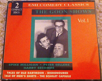 The Goon Shows Vol. 1 Volume One Spike Milligan Peter Sellers BBC CD • 7.50£
