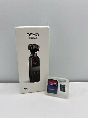 $300 • Buy DJI Osmo Pocket - Handheld 3-Axis Gimbal Stabilizer With Integrated Camera 4K