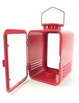 $24.99 • Buy IKEA Vinter 2018 Lantern For Tealight Red Holiday Decor Metal New