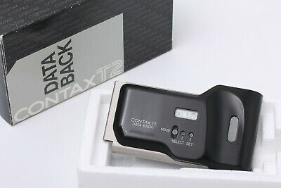 $ CDN62.65 • Buy FedEx DHL Exc+5 In BOX Contax DATA BACK For T2 Silver JAPAN #200661