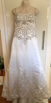 AU150 • Buy Maggie Sottero Couture Strapless Wedding Dress Dress Up Size 8