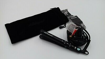 Mini Ice Diamond Black Hair Straighteners And Pouch • 16.99£