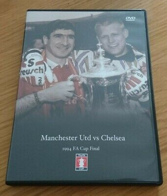 FA Cup Final Dvd 1994 - Manchester United Vs Chelsea • 8£