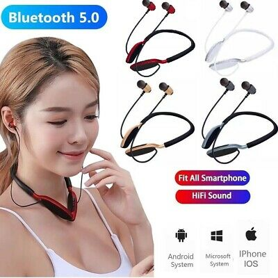 $ CDN22.39 • Buy Wireless Bluetooth Neckband Earphone Earbud Headset For IPhone Samsung Android