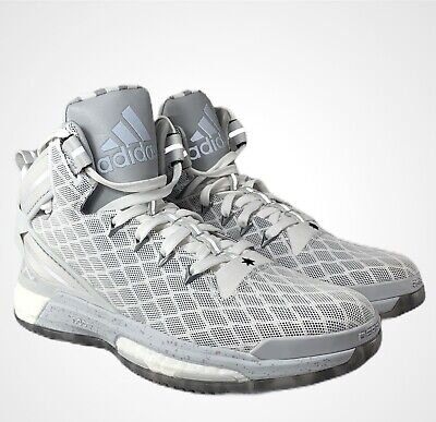 $ CDN84.98 • Buy Adidas D Derrick Rose 6 Boost Gray / White Size 9