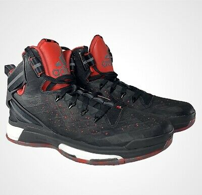 $ CDN84.98 • Buy Adidas D Derrick Rose 6 Boost Black / Red Size 9