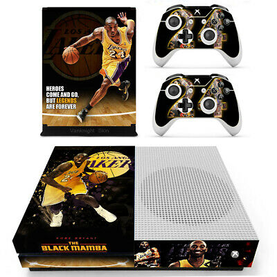 $13.20 • Buy Xbox One S Slim Kobe Bryant Black Mamba Skin Stickers Decals For Console Remotes