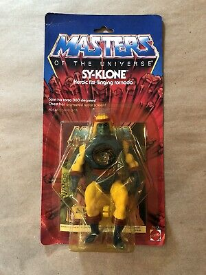 $150 • Buy Vintage 1984 Sy-Klone He Man Masters Of The Universe Figure MOC New Sealed