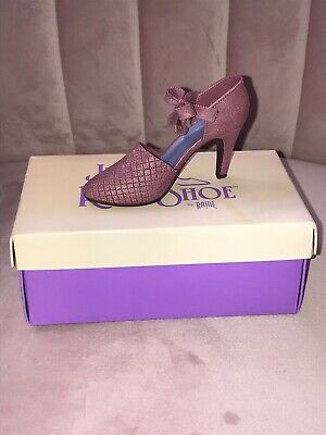 """JUST THE RIGHT SHOE By Raine Collectable """"Blush"""" Item 25020 • 5£"""