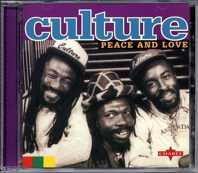 £9.99 • Buy Music CD Culture Peace And Love Reggae Roots Compilation Reissue Sealed Album