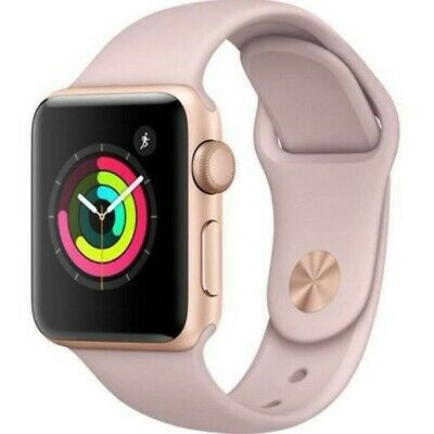 $ CDN284.20 • Buy Apple Watch Series 3 (GPS) - Rose Gold With Pink Sand Sport Band