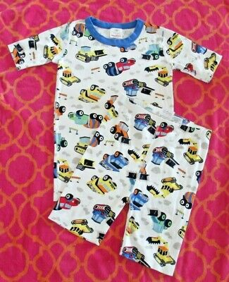 $19.50 • Buy Boys Hanna Andersson 100% Organic Cotton Pajamas Size 160 Us 14 Trucks