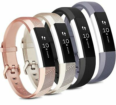 $ CDN16.93 • Buy Tobfit 4 Pack Bands Compatible With Fitbit Alta/Alta HR Bands, Soft Sport... New