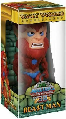 $21.99 • Buy Masters Of The Universe 30th Anniversary Funko BEAST MAN Wacky Wobbler Bobble