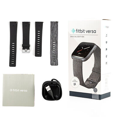 AU189 • Buy Fitbit Versa Special Edition Smartwatch Fitness Activity Tracker Woven Band