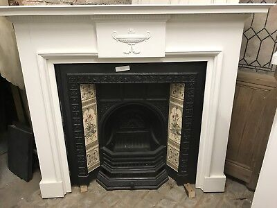 Repro Cast Iron Fire Place Victorian Style  • 599£