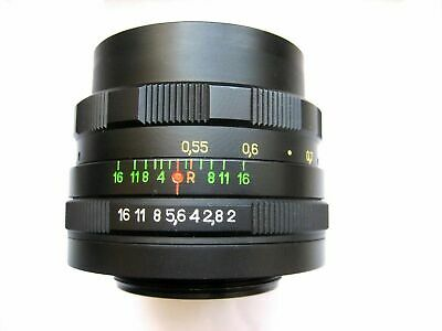 $ CDN90.44 • Buy Vintage Soviet Lens Helios 44M 58mm F2 Mount M42 With Adapter For Canon, Nikon