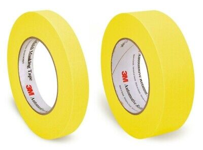 $ CDN22.53 • Buy 3M One Roll Each 06652 3/4  06654 1-1/2  Yellow Automotive Refinish Masking Tape