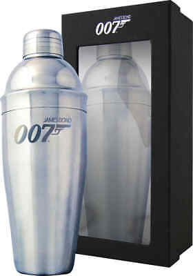 James Bond '007 Spectre' Silver Cocktail Shaker Comes Boxed • 9.99£