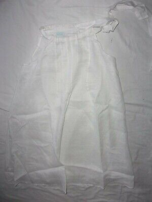 $29.99 • Buy Nwt Island Company Msrp $225 White Linen Lined Summer Dress Xs