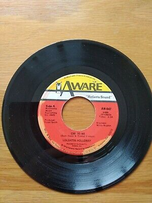 £6 • Buy LOLEATTA HOLLOWAY Cry To Me/So Can I USA 7