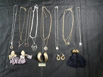 New Costume Jewellery Earrings Necklaces Job Lot  • 6£