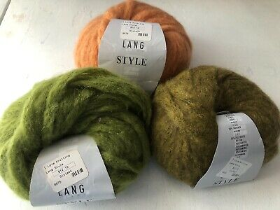 $4 • Buy Lang ~ Style Yarn ~40 Yards ~Mohair Blend ~Discontinued