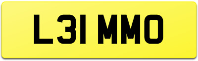 Limmo Stretch Limousine Limo Number Plate L31 Mmo Chauffeur Luxury Vip Travel • 1,599£
