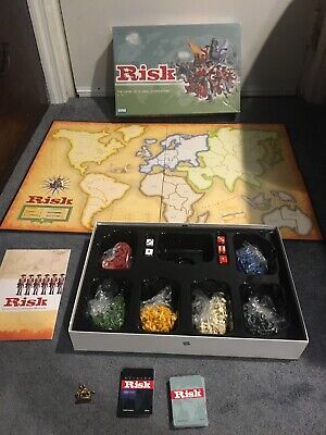 $28 • Buy 2003 Risk The Game Of Global Domination Complete Parker Brothers