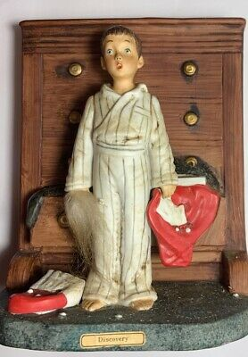 $ CDN53.50 • Buy 1975 Norman Rockwell Figurine  Discover  By Dave Grossman / Saturdy Evening Post