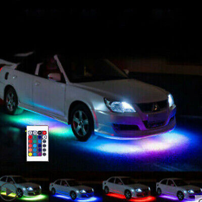 $10.39 • Buy For Car Truck Interior Decor Neon Atmosphere LED Light Strip RGB Colors+Remote