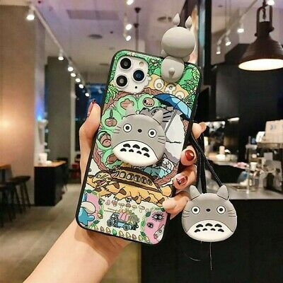 My Neighbor Totoro IPhone Cases For 7/8, 7P/8P, X, XR, XS, XSM, 11, 11P,11PM • 11.34£