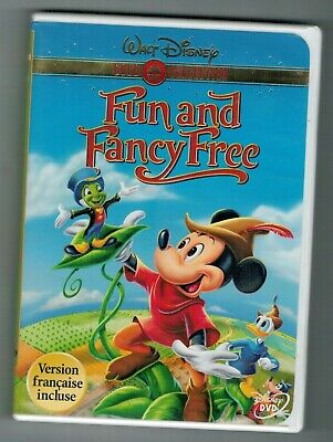 Walt Disney FUN AND FANCY FREE Gold Collection DVD • 7.48£