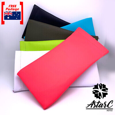 AU6.95 • Buy Sunglasses Eye Glasses Soft Case/Multi-color Pouch Bag/Mouth Snap-AstarC Wares