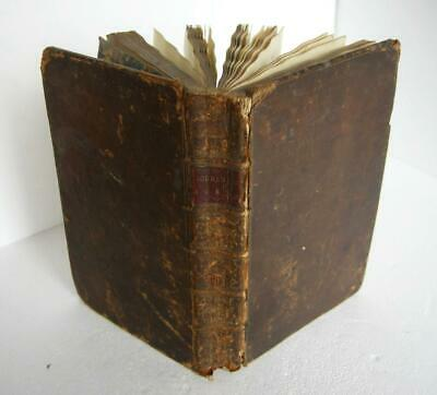 Oliver Goldsmith: Poems And Plays (Full Leather, 1777) 1st Edition • 175£