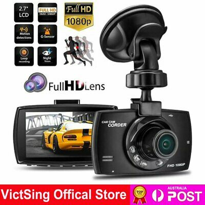 AU26.49 • Buy 1080P HD Car Driving Recorder Dash Camera Video DVR Cam Night Vision G-sensor AU