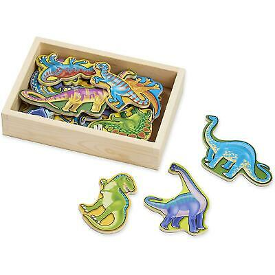 Melissa & Doug Wooden Dinosaur Magnets, Classic Prehistoric Toy, Storage Box, 2+ • 11.08£
