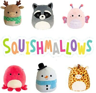 Squishmallows 7.5  Super Soft Cute Cuddle Plush Toy Pillow Pet Pal Full Range • 9.79£