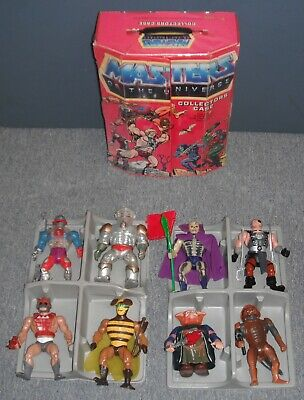 $1100 • Buy 1980s Master Of The Universe Vintage Lot 8 Figures With MOTU Case & Accessories