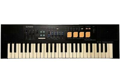 $54.99 • Buy CASIO CASIOTONE MT-220 Electric Piano Keyboard Drum Synth Pulse Modulation WORKS