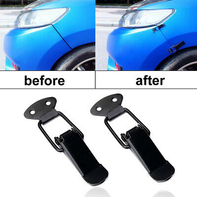 $ CDN5.08 • Buy 2pcs Universal Car Bumper Trunk Fender Hatch Lids Quick Release Fastener Parts S