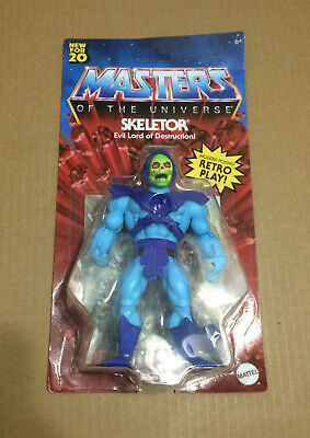 "$34.95 • Buy Mattel SKELETOR Masters Of The Universe Origins Retro 5.5"" IN HAND NEW SEALED"