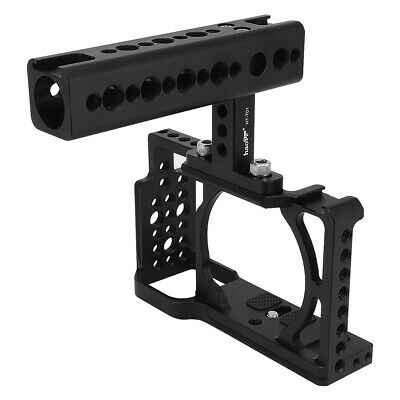 $ CDN107.67 • Buy Cage + Handle Grip For Sony A6500 A6400 A6300 A6000 Camera Protection Stabilizer